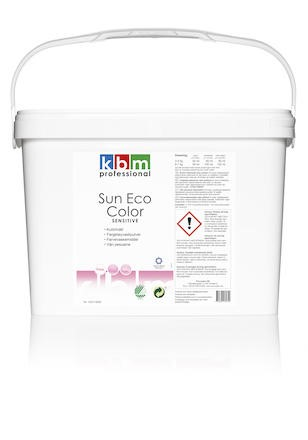 Tvättmedel KBM Sun Eco Color Sensitive free 10kg